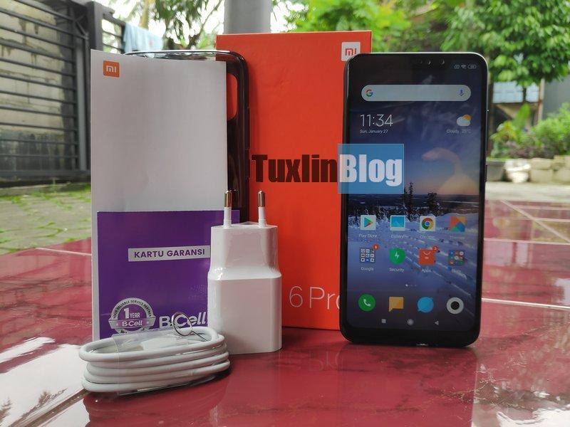 Desain Xiaomi Redmi Note 6 Pro