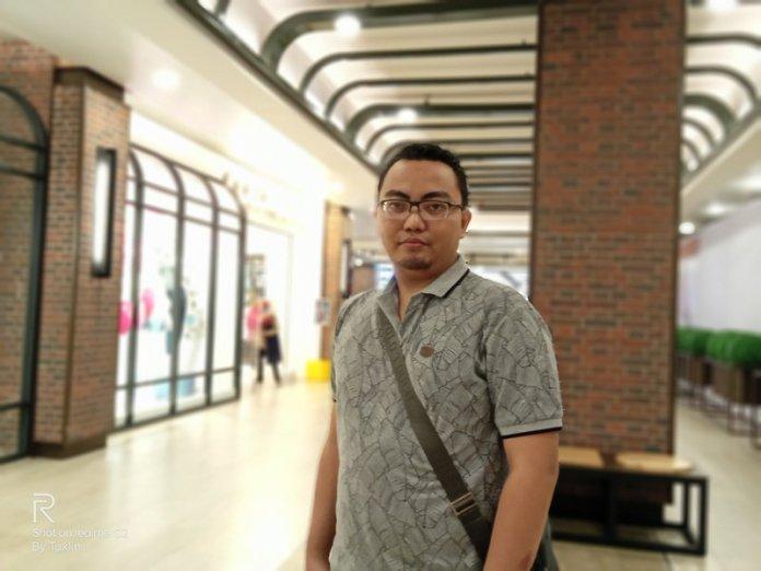 Hasil Foto Kamera Realme C2 Portrait Mode