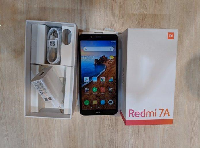Paket Penjualan Xiaomi Redmi 7A