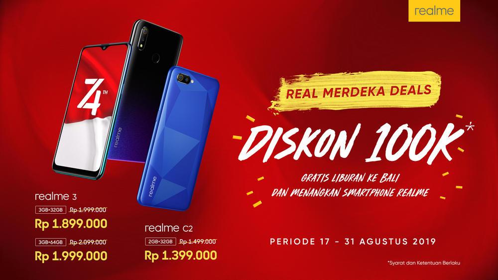 Real Merdeka Deals, Promo Keren di Hari Kemerdekaan Indonesia 2