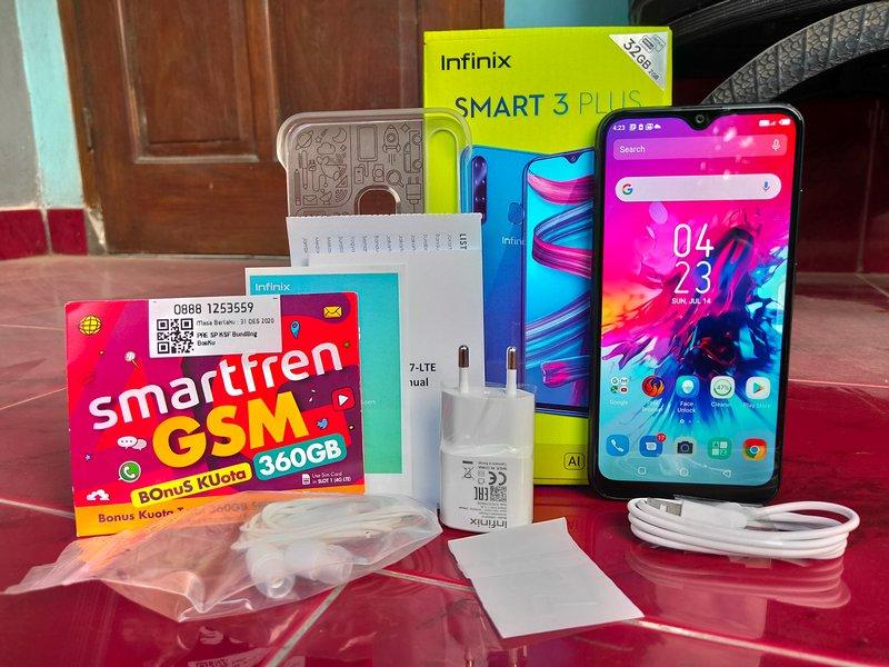 Paket Penjualan Infinix Smart 3 Plus