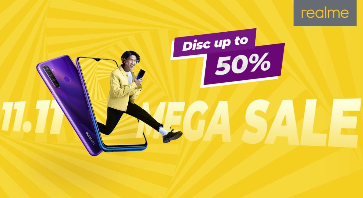 Realme Persiapkan Diskon Hingga 50% di Mega Sale 11.11 2