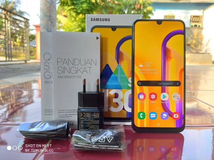 Paket Penjualan Samsung Galaxy M30s