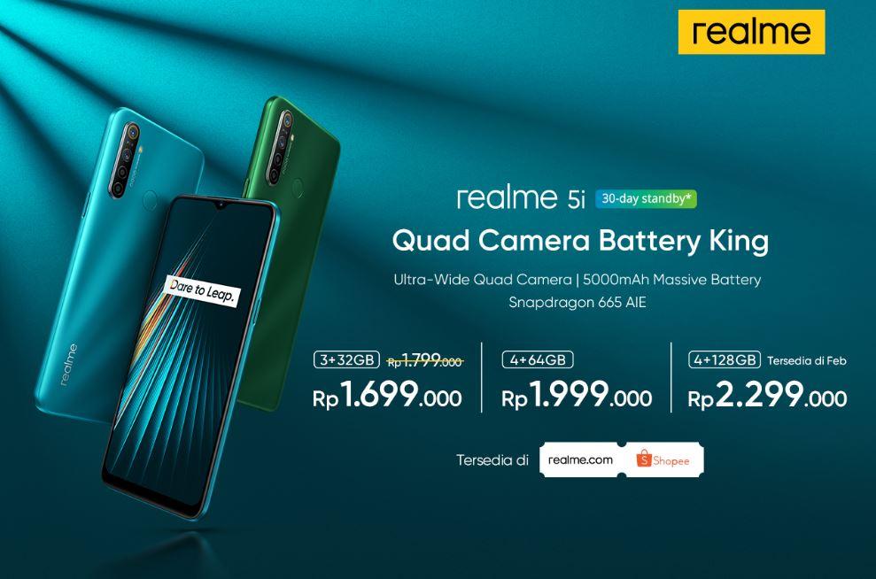 Realme Buds Air & Realme 5i Resmi Hadir di Indonesia 4