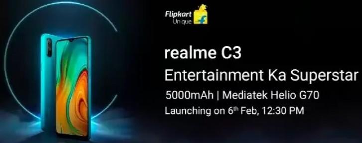 Realme C3 Bakal Ditenagai MediaTek Helio G70 dan Baterai 5000mAh? 1