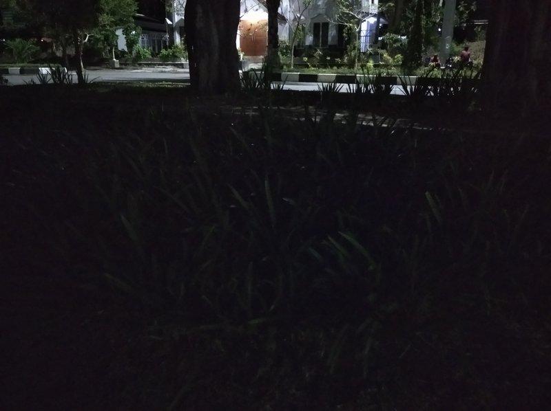 Hasil Foto Kamera Xiaomi Redmi 8A Malam Hari dengan LED Flash