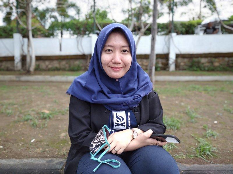 Hasil Foto Kamera Xiaomi Redmi 8A Portrait Mode