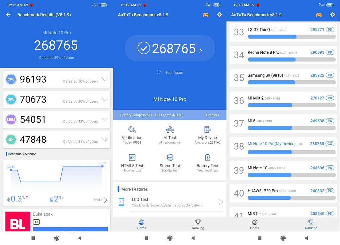 Review Xiaomi Mi Note 10 Pro, Smartphone Premium Berkamera Flagship 18