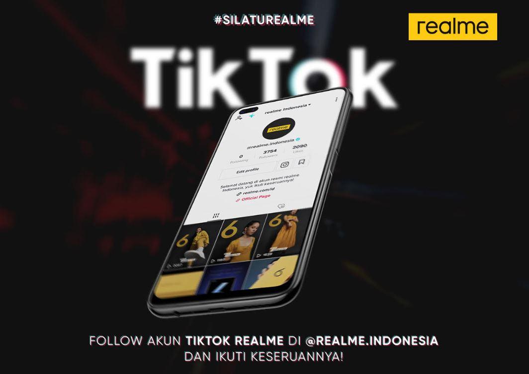 Realme Gelar Silaturealme TikTok Dance Challenge, Berhadiah Realme 6 1