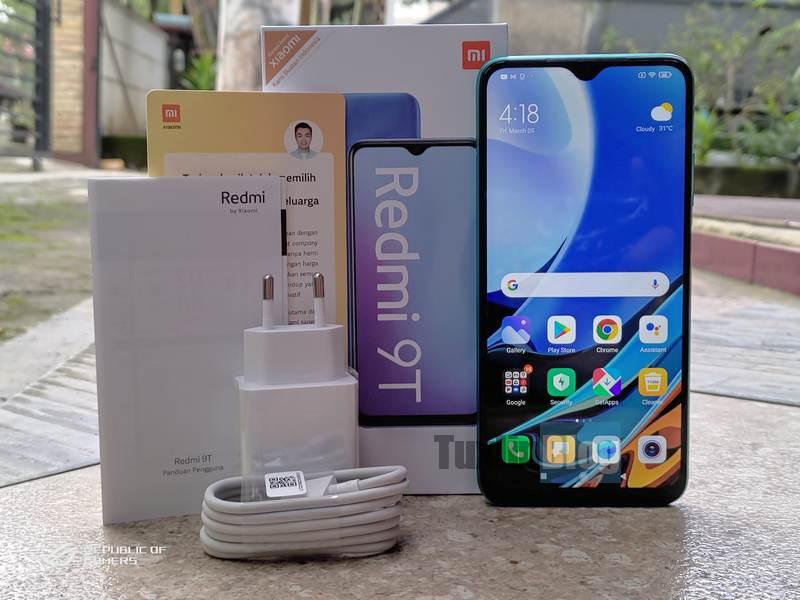 Paket Penjualan Xiaomi Redmi 9T