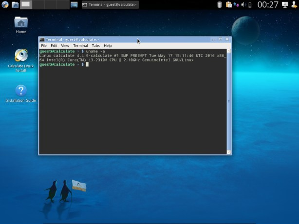 Calculate Linux 15.17 Xfce (CLDX)