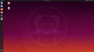 Ubuntu 19.10, GNOME 3, Desktop.