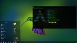 ArchLinux 2019, Deepin, Desktop.