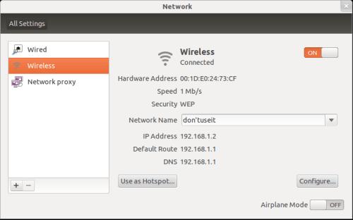 hotspot-ubuntu
