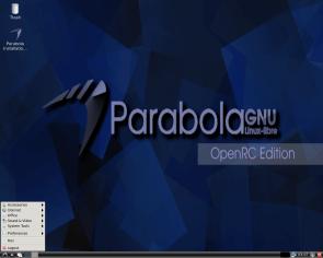 Parabola GNU/Linux-libre 2017, OpenRC Edition, Desktop, LXDE.