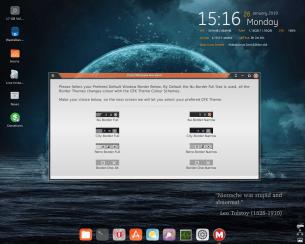 MakuluLinux 2019, Desktop.