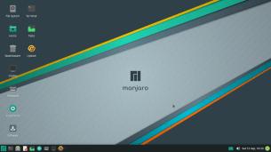 Manjaro 20.2 Nibia, Xfce, Desktop
