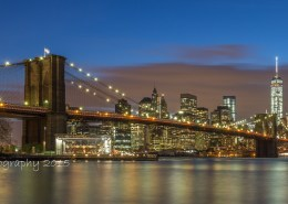 Foto's New York - Brooklyn Bridge by night | Foto Tux Photography