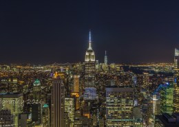 Foto's New York - Top of the Rock - Empire State Building uitzicht | Foto Tux Photography