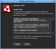 Adobe AIR Setup