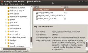 Configuration Editor - Update Notifier