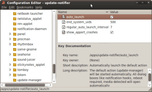 Configuration Editor - Update Notifier