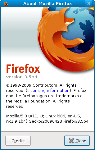Install the Firefox 3 5 Beta in Linux