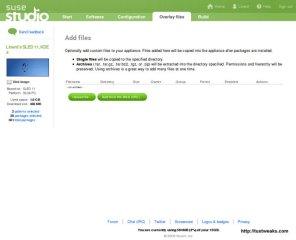 SUSE Studio Overlay Files