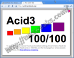 Acid3 Test - Google Chrome Linux