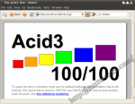 Midori Acid3 Test