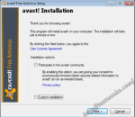 avast! installation step 2