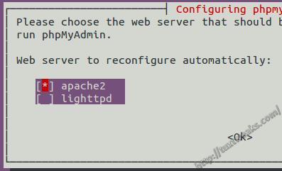 Reconfigure phpMyAdmin for Apache