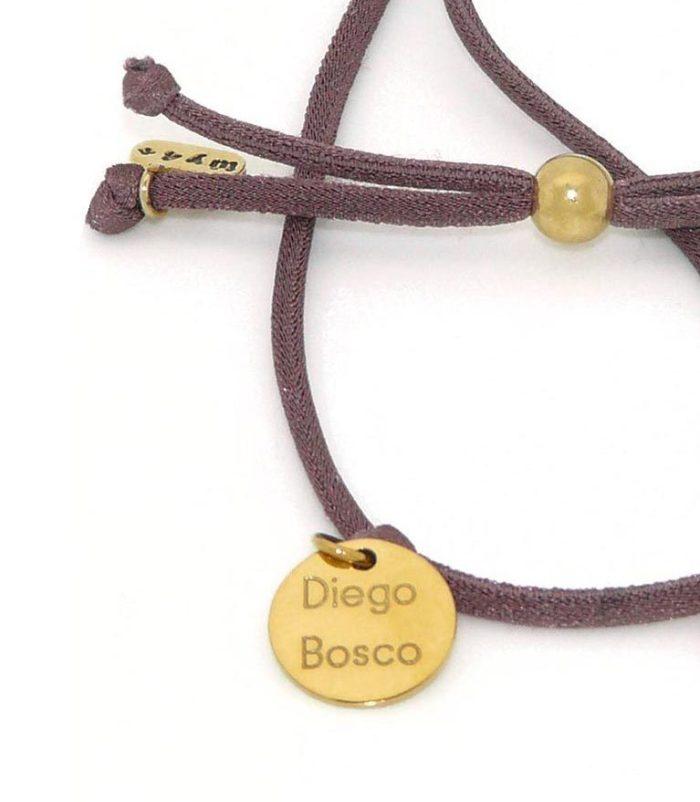 Pulsera / collar piezas latón bañadas en oro