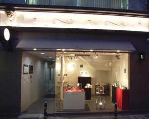 ギャラリーでの和鶴の展示風景