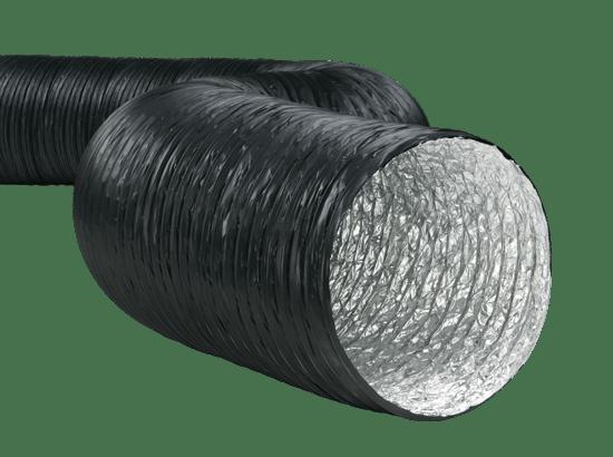 Aluminyum ve Pvc Kombinasyonlu Flexible Hava Kanalları Boruları