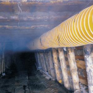 Tünel Kanalı Havalandırma Hortumları