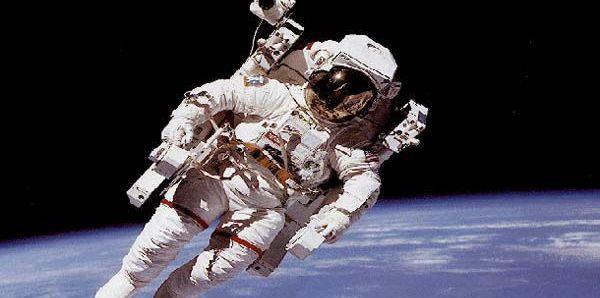 astronaut ilustracija