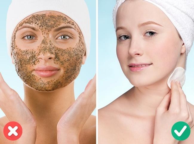 Česti piling lica nije zdrav za kožu