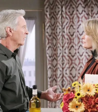 (TALL) John and Marlena's Suspicions - Days of Our Lives