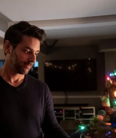 Christmas Blues - Candy Cane Christmas - Tall