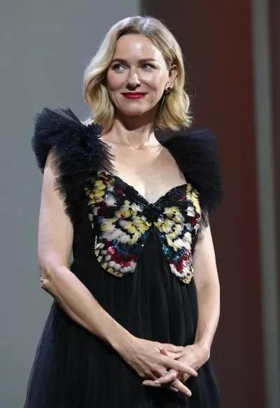 Naomi Watts Attends Venice Film Festival