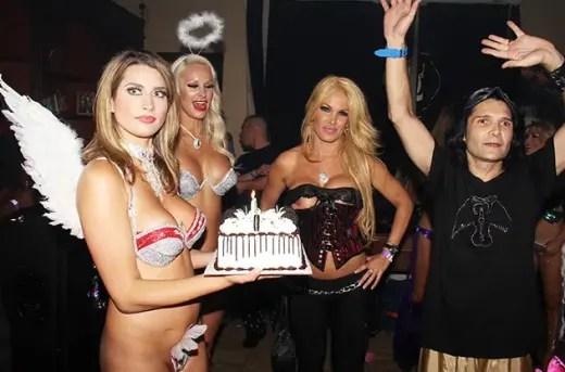 Corey Feldman birthday party