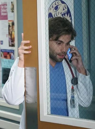 Levi's call - tall  - Grey's Anatomy Season 16 Episode 4
