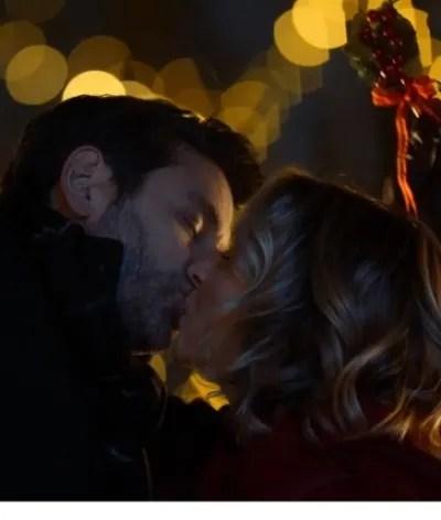 Kiss Beneath the Mistletoe - Candy Cane Christmas