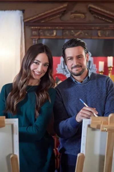 Mallory Jansen and Tyler Hynes