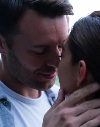 Billy Kisses Joanna - Burden of Truth Season 3 Episode 2