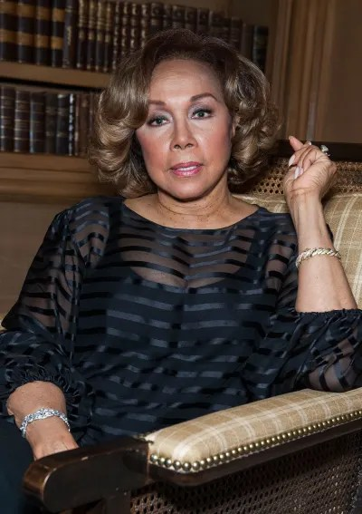 Diahann Carroll attends House of Flowers Event