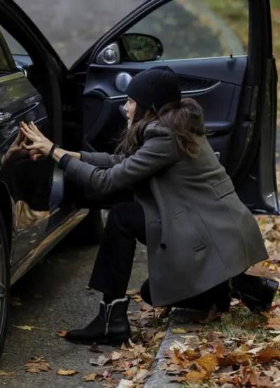 Hiding Behind Car - The Blacklist Season 8 Episode 2