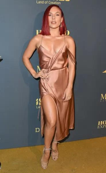 Sharna Burgess Attends Maxim Event