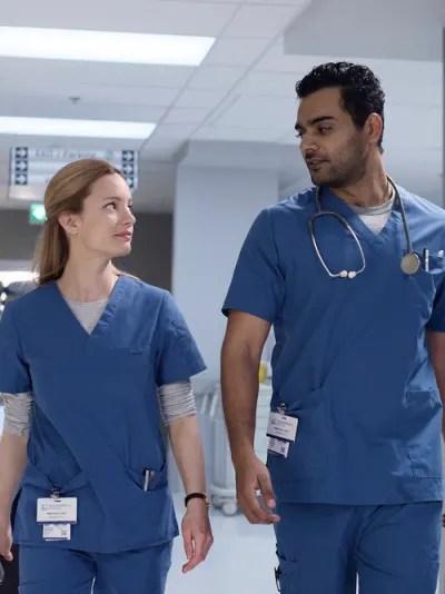 Bashir and Mags Talks Vaccines - Transplant Season 1 Episode 3